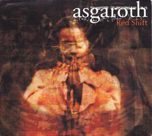 ASGAROTH Red Shift UK Press Peaceville CDVILE 104/611042 2002 CD