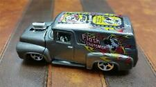 RARE 1956 '56 FORD DELIVERY VAN - FLASH the NEWS FLASHMAN 2000 GRAY * HOT WHEELS