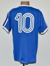 BIRMINGHAM CITY 1970'S HOME FOOTBALL SHIRT JERSEY #10 SCORE DRAW RETRO REPLICA