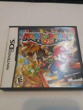 Mario Party Nintendo DS Original Game Case W/ Mauals No Actual Game Cartridge