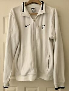 Nike Tennis Mens Roger Federer(RF) Cotton Tennis Jacket Size L