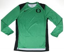 Nike Digital Hyperelite LS Shirt Oregon Ducks Basketball Men's L Green 930567