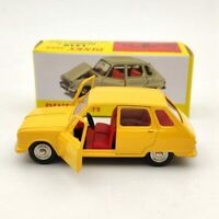 Atlas 1:43 Dinky Toys 1416 Renault 6 Yellow Diecast Models Collection Cars