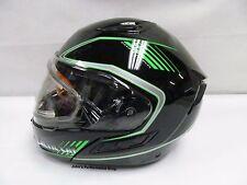 Arctic Cat Green Modular Helmet w/ Electric Shield M L XL 2XL 5272-274 5272-276