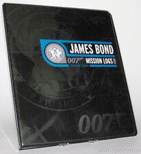 JAMES BOND MISSION LOGS MINI-MASTER & BINDER++