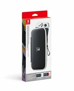 Nintendo Switch OLED Model Carrying Case & Screen Protector In Stock Brand New