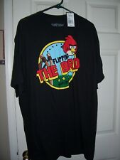 NWT Mens ANGRY BIRDS 'Flipping the Bird' T Shirt Size 2XL New!