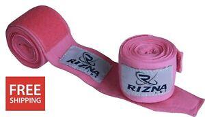 "Rizna Premium Boxing Hand Wraps 180"" MMA Muay Thai Inner Gloves Wrap Bandages"