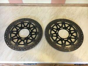 Honda CBR929 CBR 929 CBR 954 OEM Brake Discs (4.15mm & 4.11mm ) (set 4)