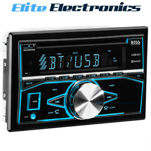 BOSS AUDIO 850BRGB DOUBLE-DIN BLUETOOTH IN-DASH CD AM FM CAR STEREO RECEIVER