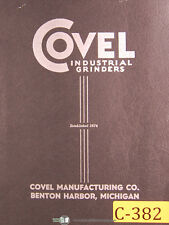 Covel Clausing 12, Tool & Cutter Grinder, Operations and Assembly Manual 1968