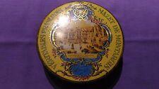 Boite Métallique Vintage « Véritables Praslines Mazet De Montargis » En Bon Etat