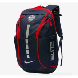 ✨Nike Hoops Elite Pro USA Team USA Basketball Backpack Blue/Red/White NWT!
