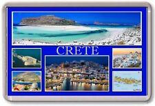 FRIDGE MAGNET - CRETE - Large - Greece TOURIST