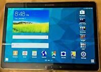 """SAMSUNG GALAXY TABS SM-T807A 10.5"""" 16GB  AT&T  WI-FI+3G  screen HAS...  READ."""