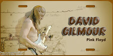 DAVID GILMOUR Pink Floyd ART LICENSE PLATE