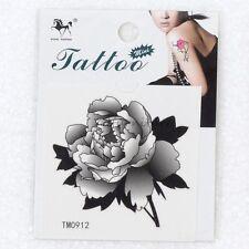 Waterproof Tattoo Beautiful Fashion Flower Temporary Tattoos Body Art Sticker