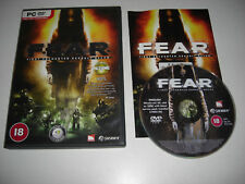 Fear 1 PC DVD ROM ORIGINALE F.E.A.R. primo incontro Assault Recon POST VELOCE 1st