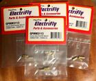ELECTRIFLY 3.5mm FEMALE GOLD PLATED BULLET CONNECTORS X 4 ~ GPMM3113 ~NEW SEALED