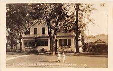 D53/ Kilbourn Wisconsin Wi RPPC Photo Postcard c30s Fitzgerald's Modern Rooms