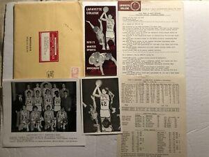 1970 71 LAFAYETTE LEOPARDS Media Photos Tracy TRIPUCKA Walt KOCUBINSKI Ron MOYER