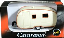 CARAVAN 1:43 Model Car Miniature Toy Models Cars Die Cast Trailer Caravan