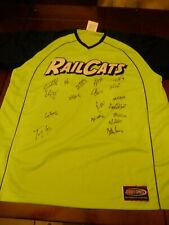 2009 Gary SouthShore RailCats Game Used Jersey #36 Signed by 18 Players