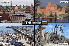 SOUVENIR FRIDGE MAGNET of LITHUANIA