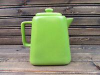 Starbucks 4 Cup 32oz. Green Ceramic Coffee Pot 2012