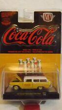M2 Machines 1957 Chevrolet 150 Handyman Station Wagon Coca-Cola Hobby Exclusive