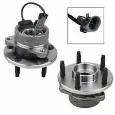 Pair of 2 Wheel Hub Bearing Front for CHEVY Cobalt HHR Pontiac G5 Ion w/ ABS