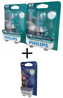 H7 PHILIPS X-treme Vision +130 Einzelblister 2st. 12972XV+B1 + W5W White Vision