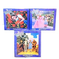 NEW in box Vintage 1999 Wrapped WIZARD OF OZ Pressman Puzzles Dorothy Glinda LOT