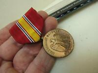 Awesome WWII National Defense Medal Military Korean   (17F1)