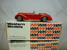 WESTERN MODELS WMS33 KIT (built) ALFA ROMEO 8C 2900B SPIDER by TOURING - 1:43