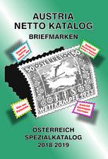 AUSTRIA NETTO KATALOGE - ANK Briefmarken Österreich Spezial 2018/2019