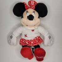 """🎄 Disney Collection Minnie Mouse Stuffed Plush 2017 Holiday Christmas 15"""""""