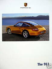 2007 Porsche 911 new vehicle brochure