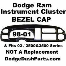 DODGE Ram Instrument Cluster Bezel Cap Overlay 98-01 Dodge Ram Pick Up Truck NEW