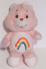 """Care Bears Vintage 16"""" Pink Cheer Bear Extra Large Plush Toy Doll 1983"""