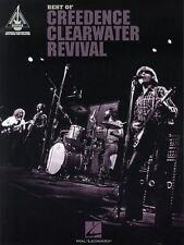 Best Of Creedence Clearwater Revival Learn to Play Rock Guitar TAB Music Book
