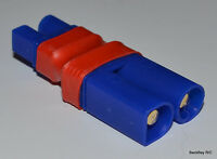(1) No Wires Connector: Male EC5 to Female EC3 Lipo Battery Adapter