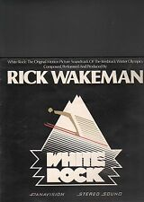 RICK WAKEMAN - white rock LP