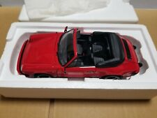 MINICHAMPS Porsche 911 CARRERA CABRIOLET Red 1983  100 063030 1/18