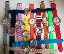 12 Pcs Women's/Girl's Wholesale Buy Silicone Band Cool Fashion Working Watches