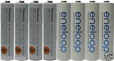 Panasonic Eneloop X 8 AAA NiMH Rechargeable Batteries