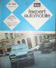 Revue technique CITROEN AMI 8 SUPER + RENAULT 5 LS RTA EXPERT 106 1975