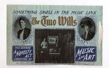 The Two Wills - vaudeville novelty/music act - letterhead - 1900 era