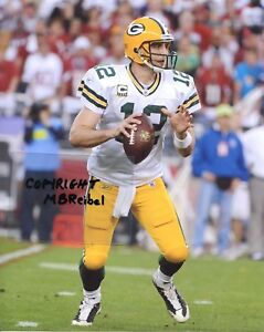 AARON RODGERS photo in action Green Bay Packers #1 (c) MBR