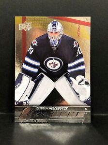 2015-16 Upper Deck Young Guns #214 Connor Hellebuyck Winnipeg Jets RC Rookie